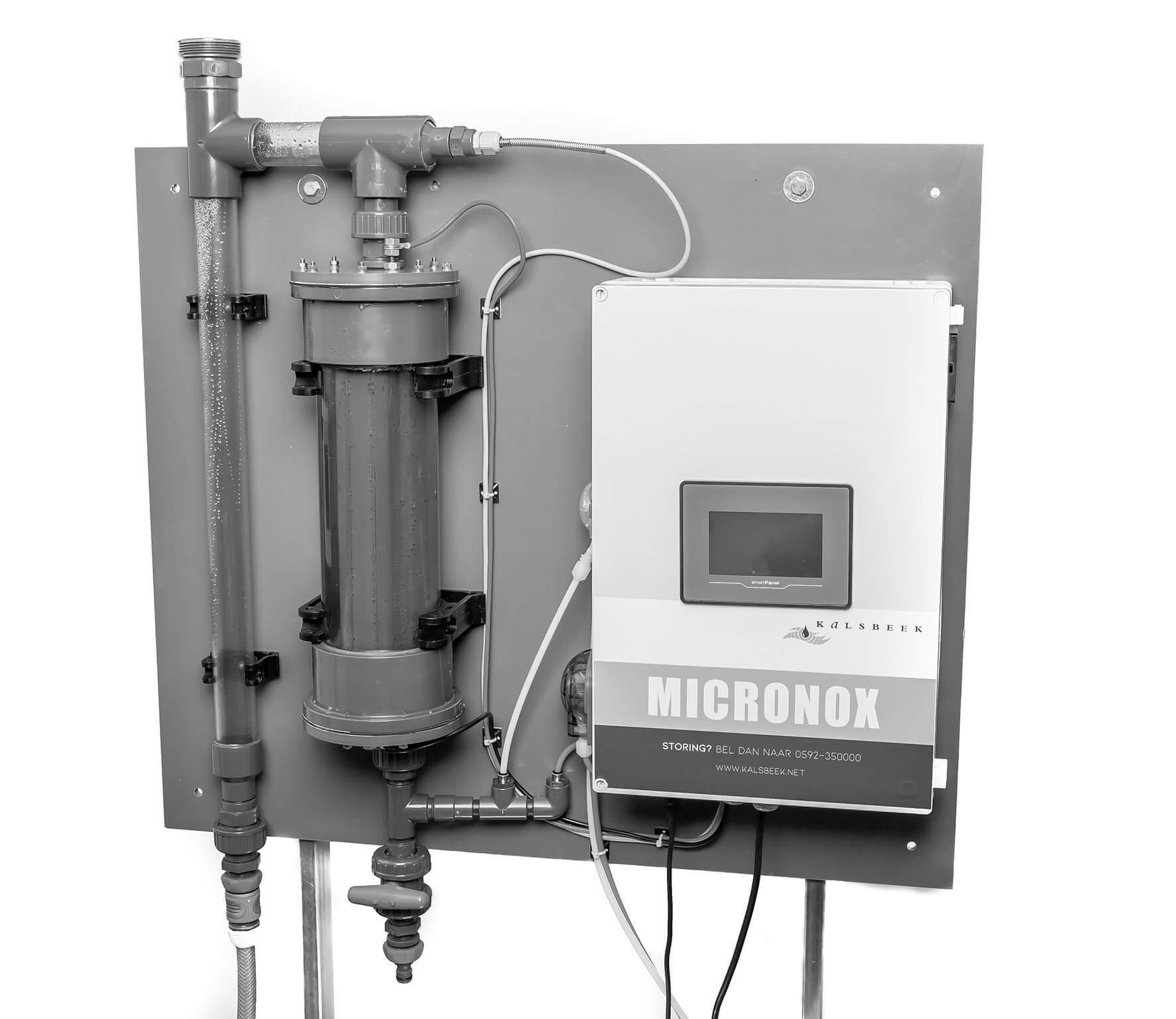 Micornox installatie